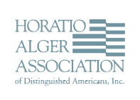Horatio Alger Association logo grey